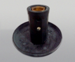 LENCO Insulated Stud Connector Black