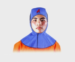 REDRAM Welding Hood Blue FR Cotton