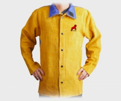 REDRAM Welding Jacket Golden Colour With Blue FR (Size:XL)