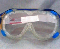 SELLSTROM Goggle Dyno Dots Neon Vent, Blue, Clear Lens