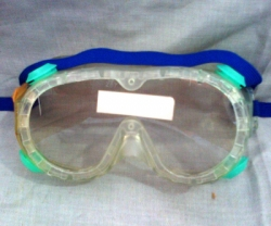 SELLSTROM Goggle Dyno Dots Neon Vent, Green, Clear Lens