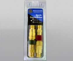 WESTERN Quick Connect Set Hose To Hose Set with Check Valve