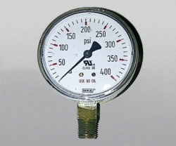 WIKA Gauge 2,5 Inch 400 PSI Single