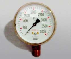 WIKA Gauge 2,5 Inch 4000 PSI Single