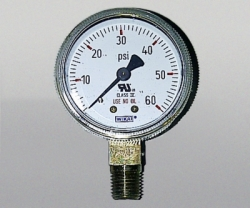 WIKA Gauge 2,5 Inch 60 PSI Single