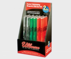 ULLMAN 30-Piece Magnetic Retrieving Tool Display